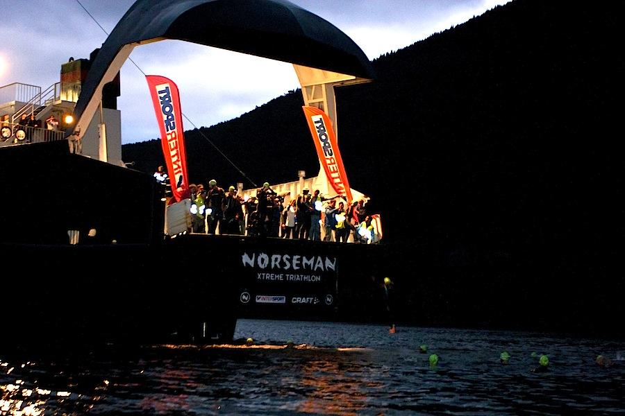Norseman Triathlon Boat