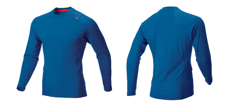 Base Elite Merino LS M Skydiver Red