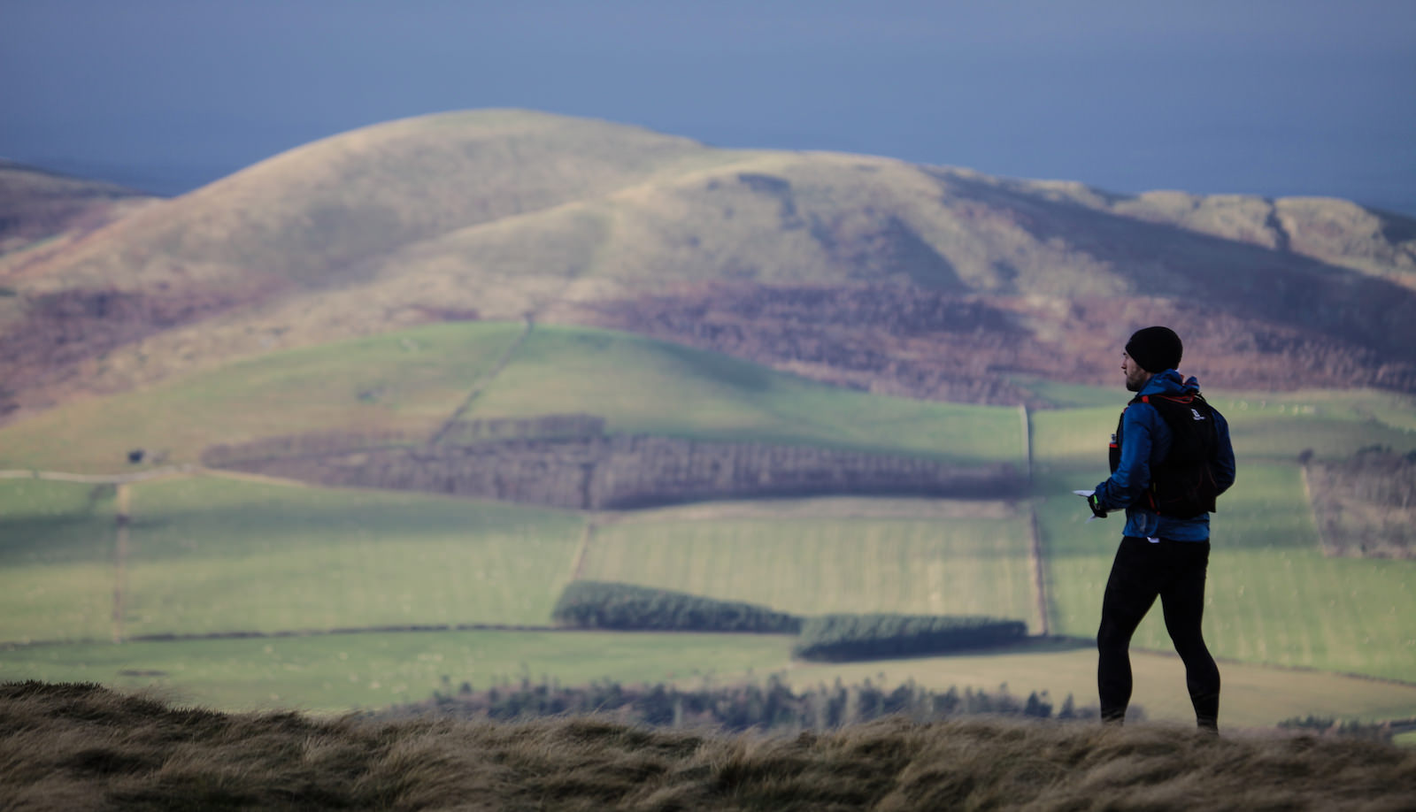 I was blown away by how peaceful it was in the Cheviots